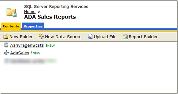 Reporting Services – Knowledgebase