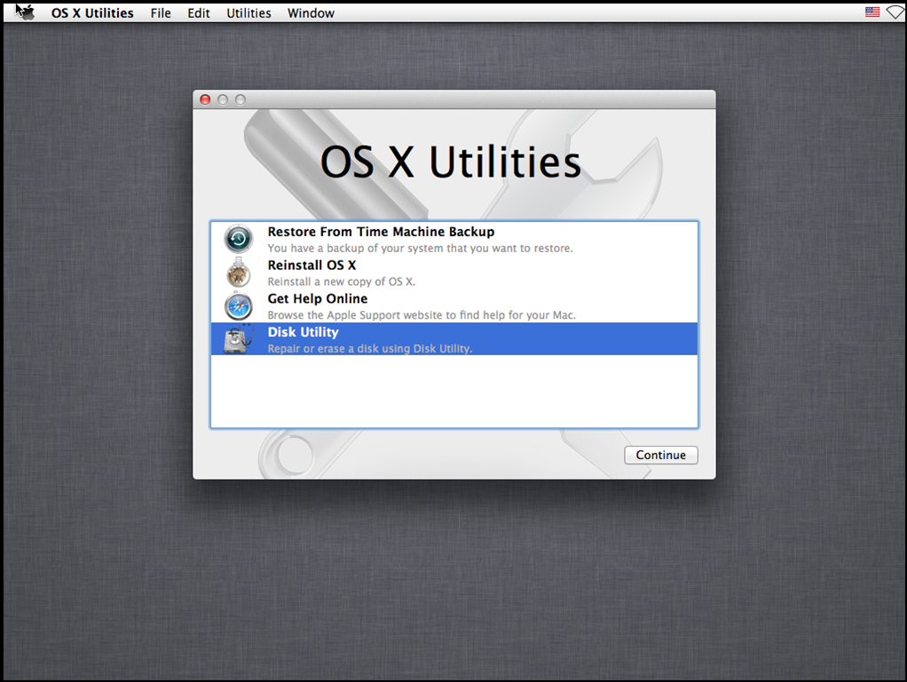 Creating a Mac OS X development image – Knowledgebase