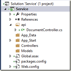 How to POST a string[] array to a ASP  NET Web Api REST service that