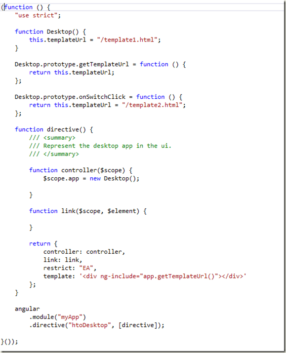 How to dynamically load template for a directive in angularjs image maxwellsz