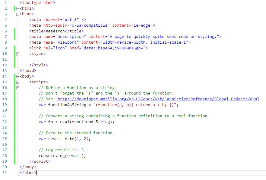 Javascript In Vs Code